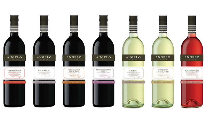 Angelo Wine Serie Design